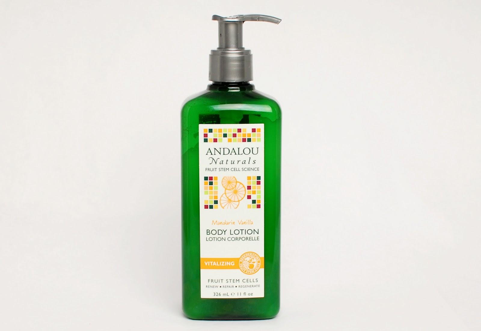 Andalou Naturals Body Lotion Mandarin Vanilla