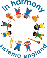 In Harmony - Sistema England logo