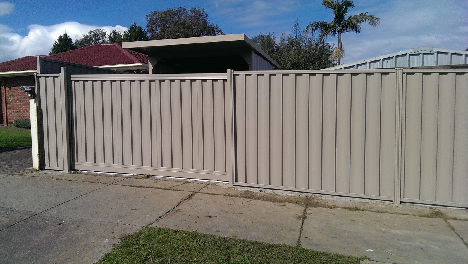 Ironman Fencing Sliding Gate Powered Video