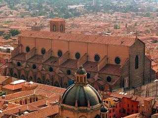 Vista de Bolonia, la ciudad Roja