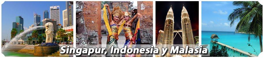 Singapur, Indonesia y Malasia