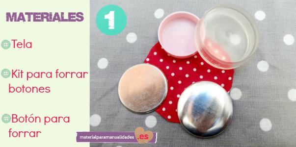 Material para manualidades blog septiembre 2013 - Botones para forrar ...
