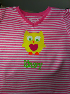 Owl Personalized Shirt