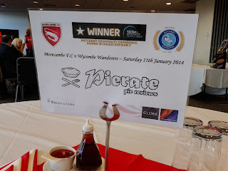 Pierate at Morecambe FC
