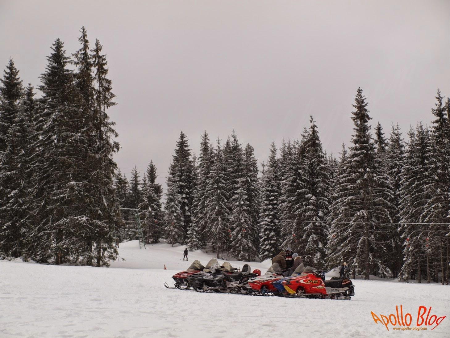 Snowmobile de inchiriat