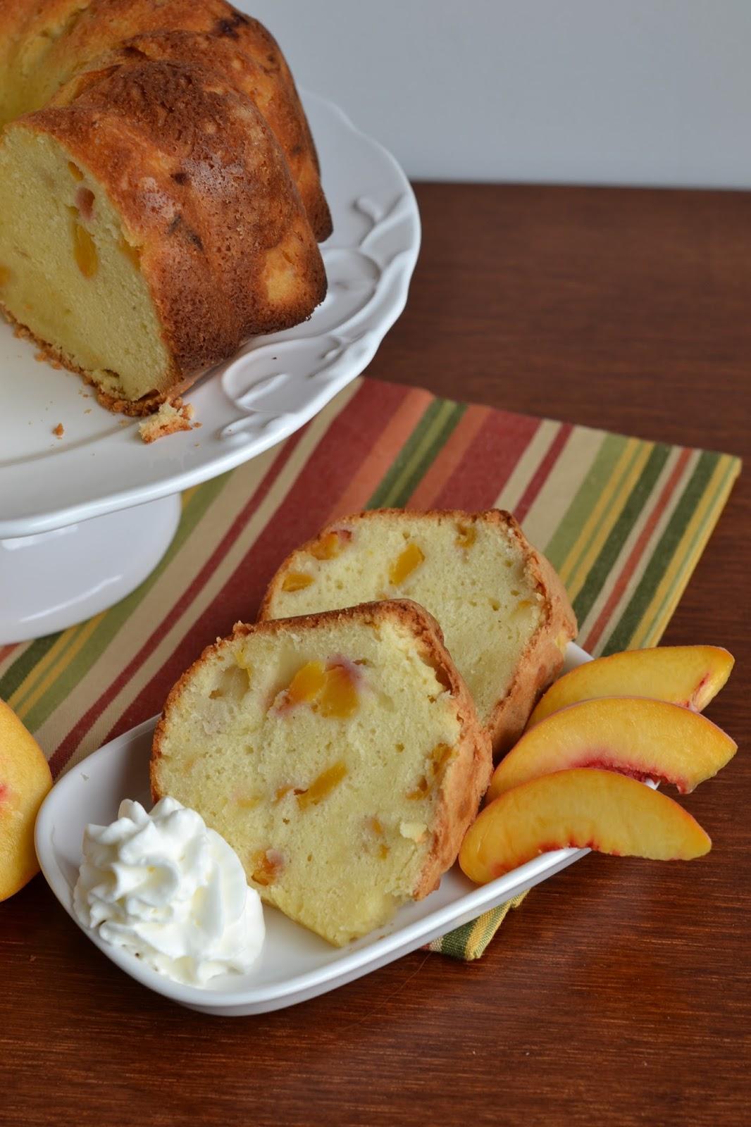 Bonbons Amp Biscotti Peaches And Cream Pound Cake