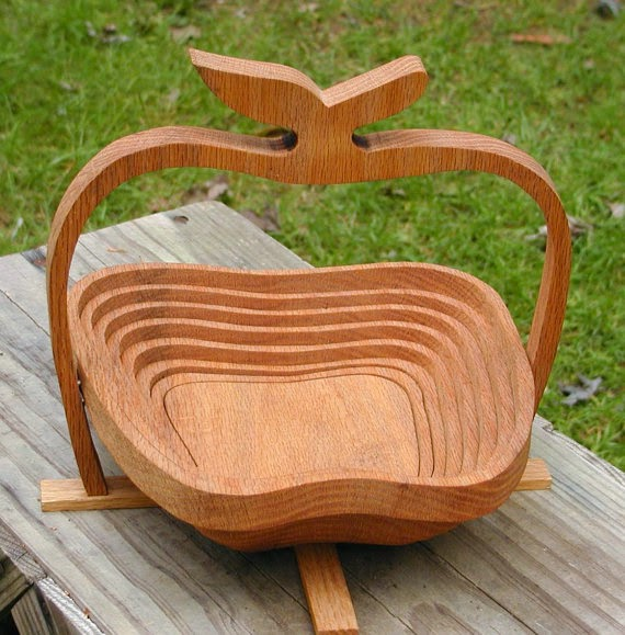 collapsible apple basket