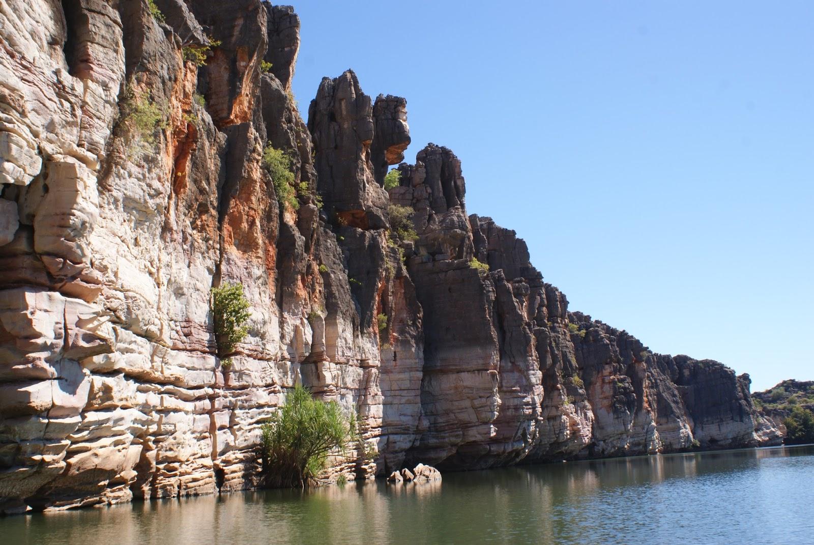 Amelia the explorer: Geikie Gorge, Kimberley region WA