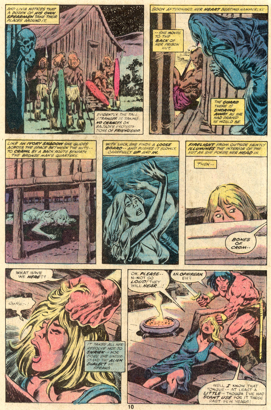 Conan the Barbarian (1970) Issue #104 #116 - English 7