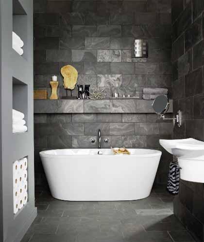 Ragam ide Desain Kamar Mandi Dengan Shower 2015 yang elegan
