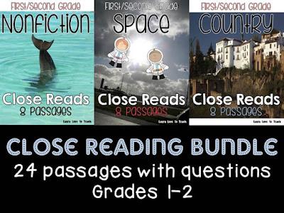 https://www.teacherspayteachers.com/Product/First-and-Second-Grade-Close-Reading-BUNDLE-1886844