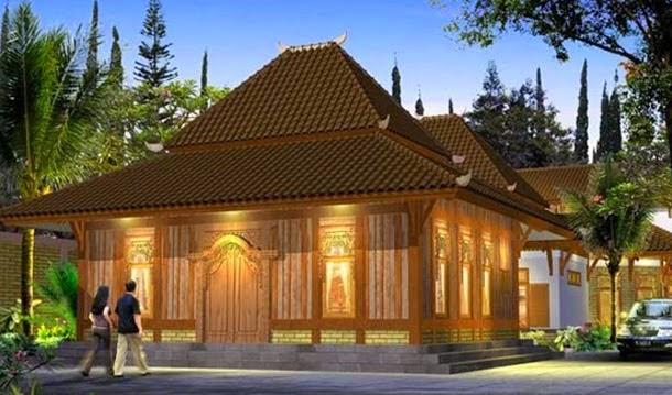 Gambar Desain Rumah Klasik Jawa Model Minimalis Terbaru