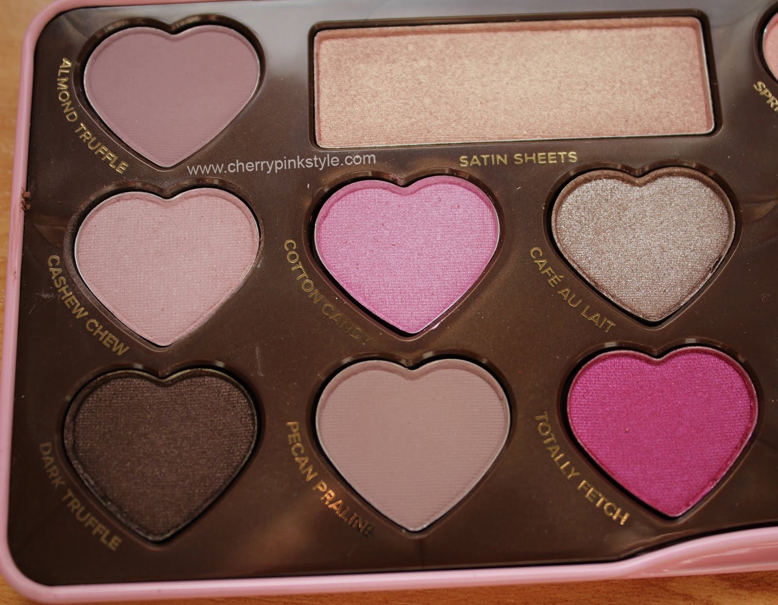 sombras de too faced