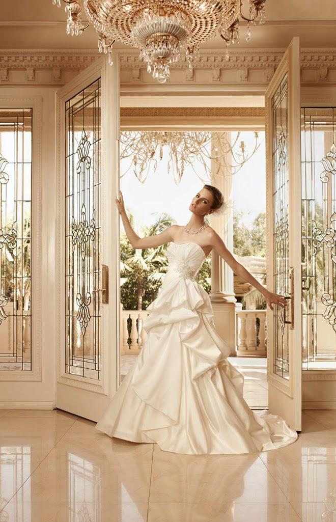 Fantásticos vestidos de novia