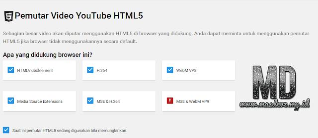 YouTube HTML5 - Mas Devz