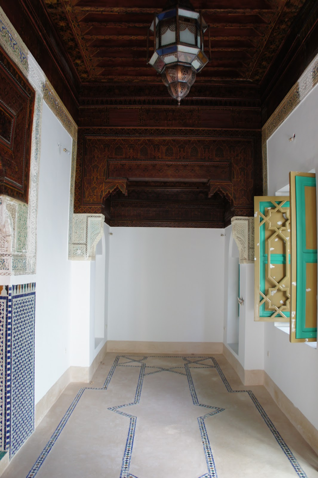 tadelakt floors finding buying and renovating a riad in. Black Bedroom Furniture Sets. Home Design Ideas
