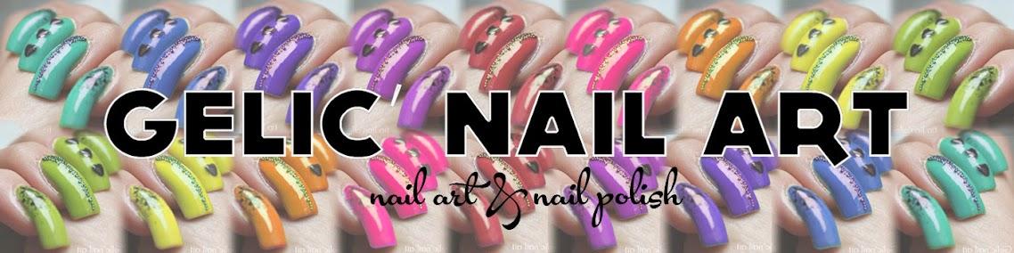 Gelic' nail art