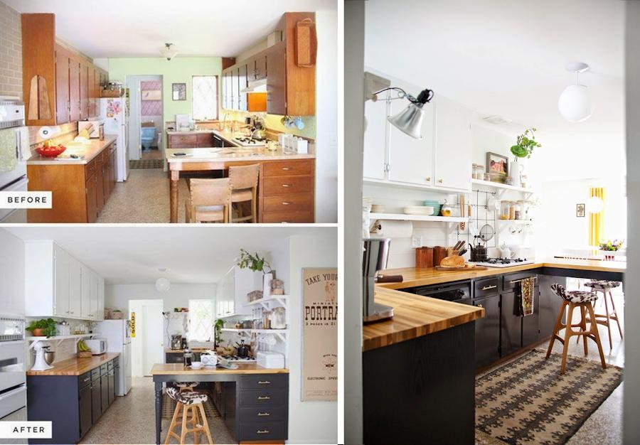 Cambiar suelo cocina sin obras - Tapar azulejos cocina ...