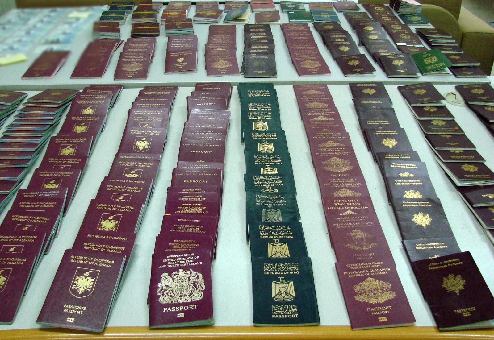 Εγκληματική οργάνωση έκλεβε και πλαστογραφούσε ταξιδιωτικά έγγραφα