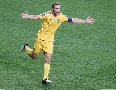 Andriy Shevchenko Ukrainian Legend Back Euro 2012 Ukraine Hd Desktop Wallpaper