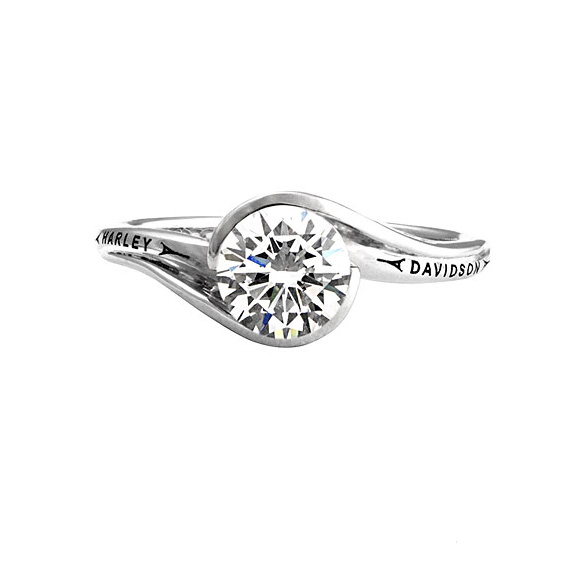 these rings are gorgeous and are available for customized ordering in our motorclothes apparel department at adventure harley davidson - Harley Davidson Wedding Rings