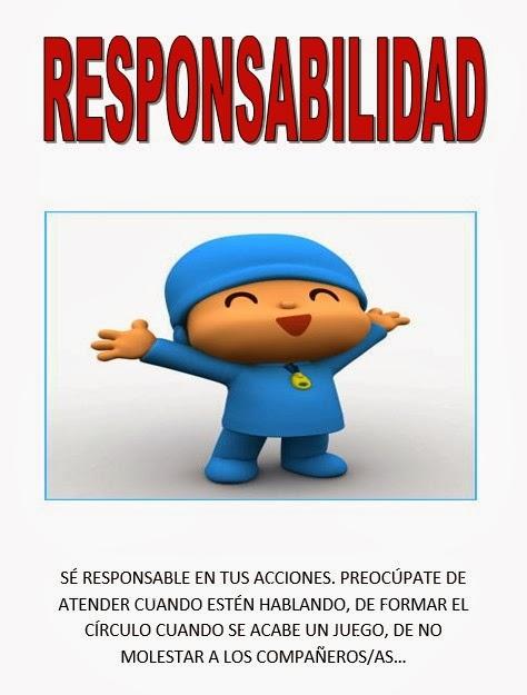 """Valor """"Responsabilidad"""""""