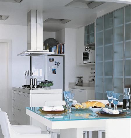 Decora o de interiores casa cozinhas pequenas para casa for Interiores de apartamentos