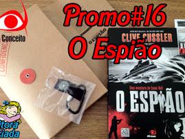 Promo#16: Kit da Novo Conceito de O Espião, de Clive Cussler
