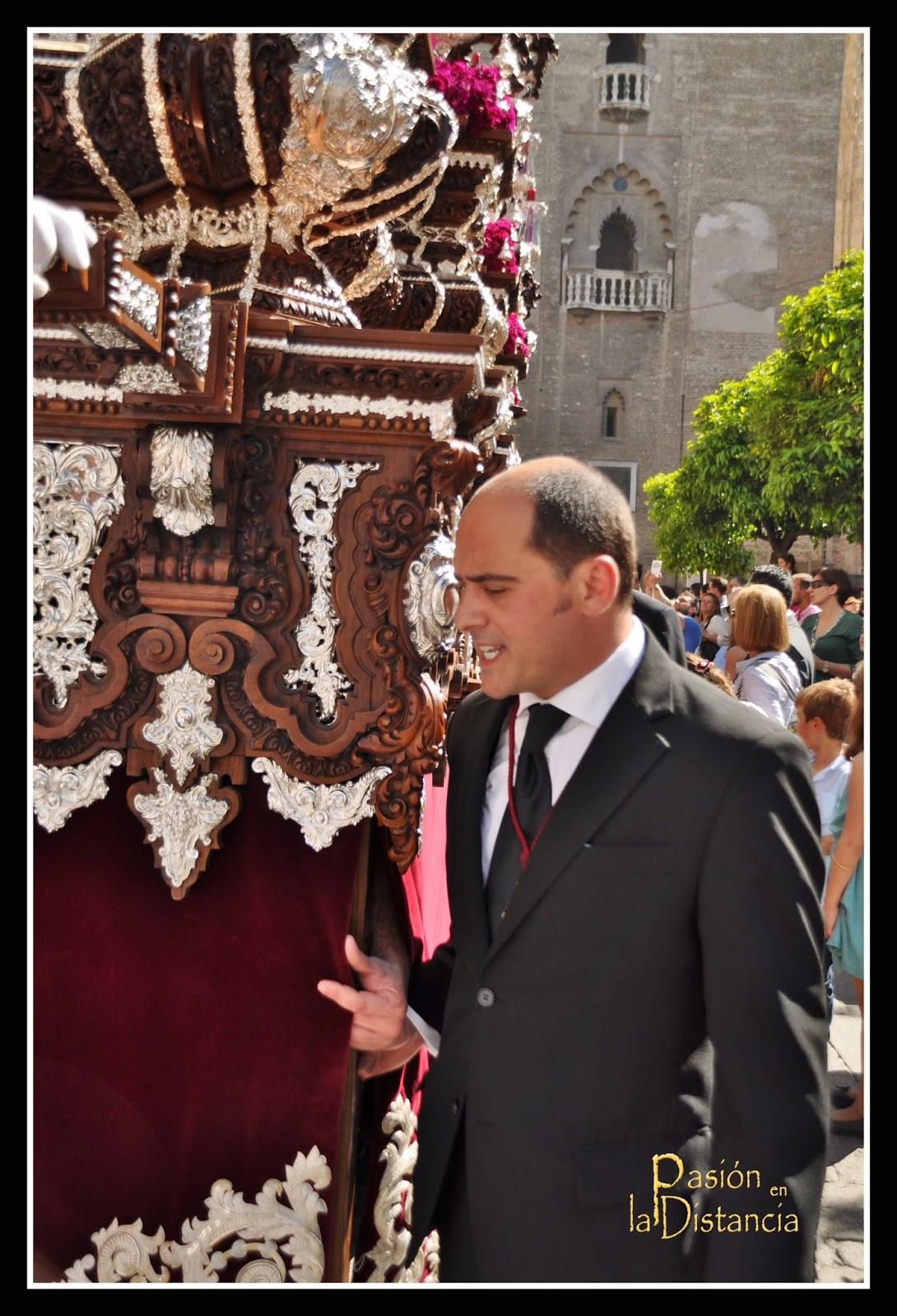 El Cerro del Águila Sevilla 2015 sale de la Catedral