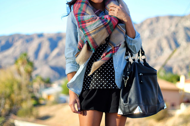 best way to layer winter spring prints