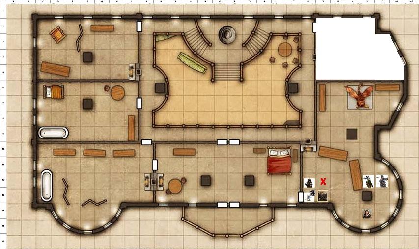 Combat Map - Turn 36