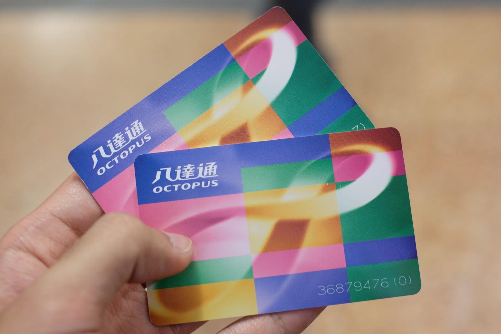 Biaya Liburan 5 Hari di Hong Kong dan Singapura-1 octopus card