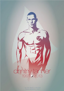 Dmitriy Tanner by Kai Karenin, vector illustration