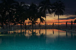 Icon Vallarta Pool Night View