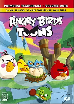 Angry Birds Toons Vol. 2   DVDRip AVI + RMVB Dublado