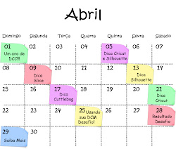 EM ABRIL!!