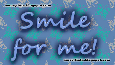 Imagen de amor: Smile for me!