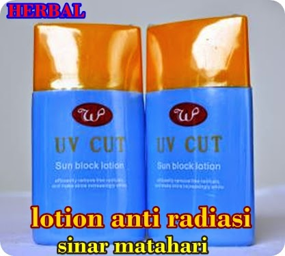 lotion herbal penangkal radiasi sinar matahari