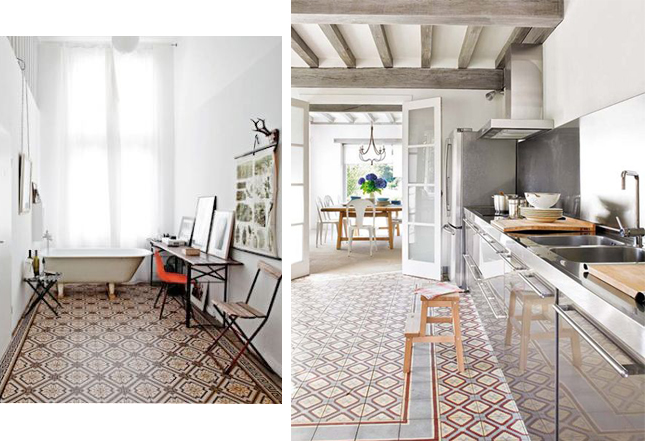 Al These Patterned Floor Tiles Coming Up Again And I M Really Loving The Idea Of A In Bathroom Or Kitchen Hallway
