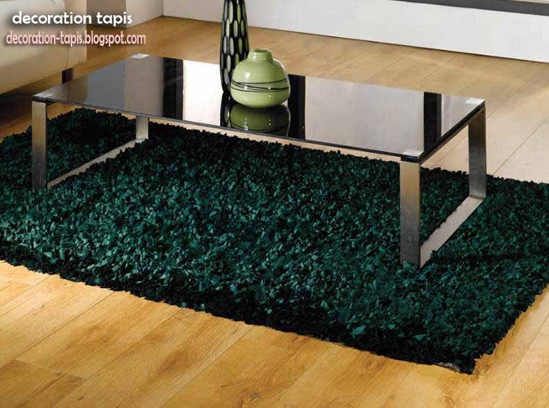 tapis salon noir d coration tapis. Black Bedroom Furniture Sets. Home Design Ideas