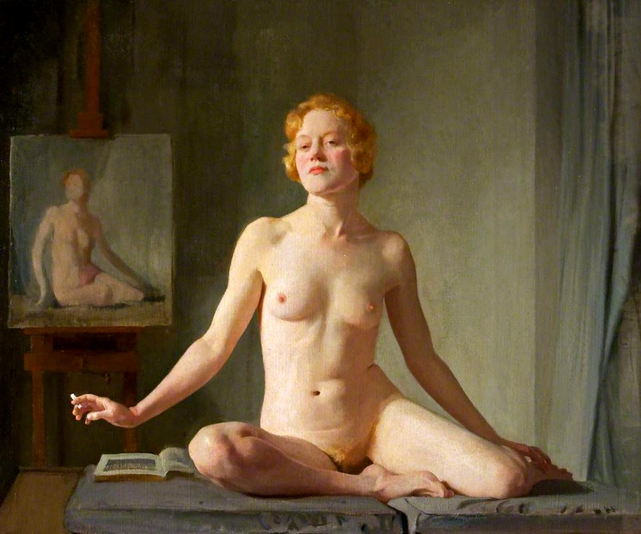 The Newport Nude, D.D by Gerald Kelly