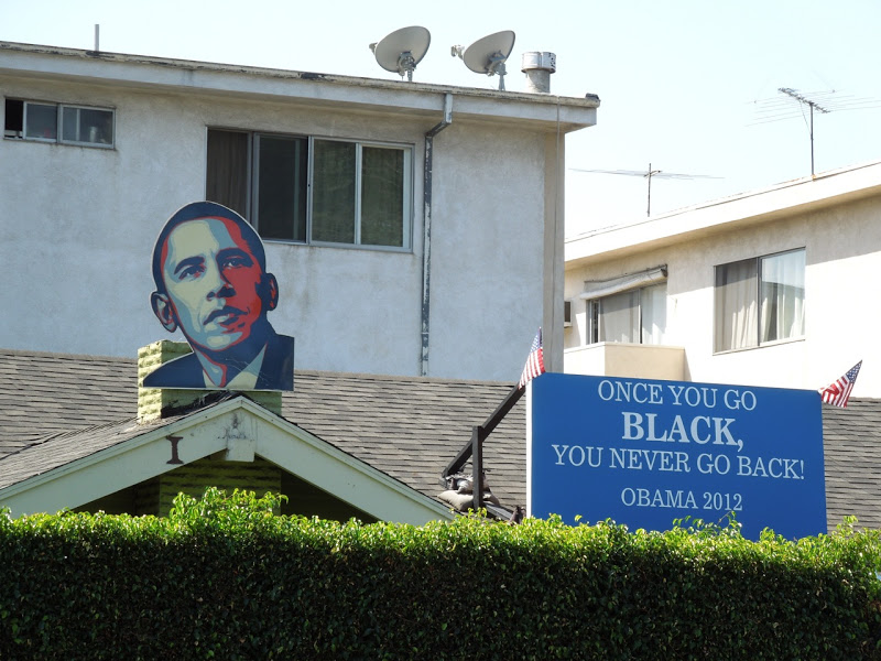 Pro-Obama Once you go black rooftop display