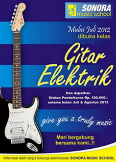 Jurusan baru : Gitar Elektrik