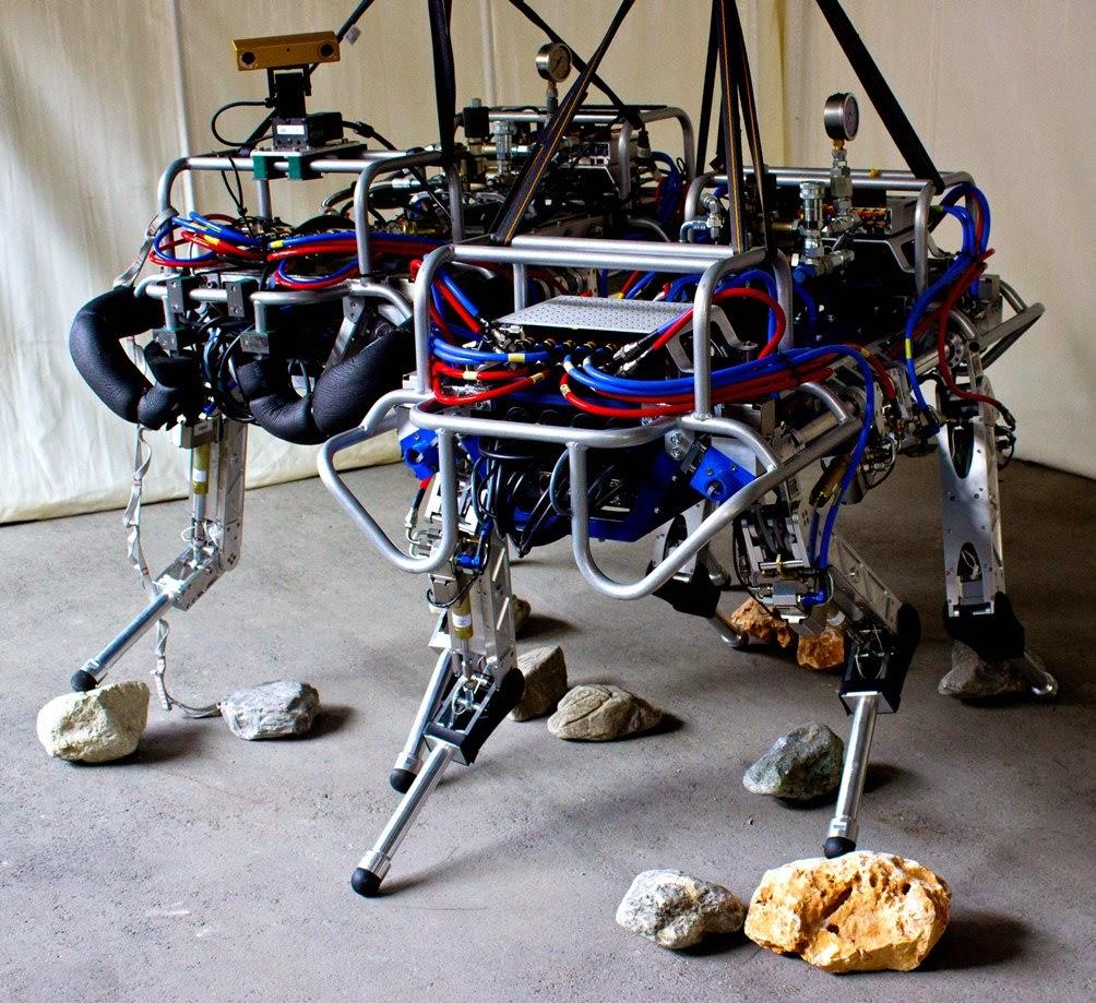 Smarter HyQ robot
