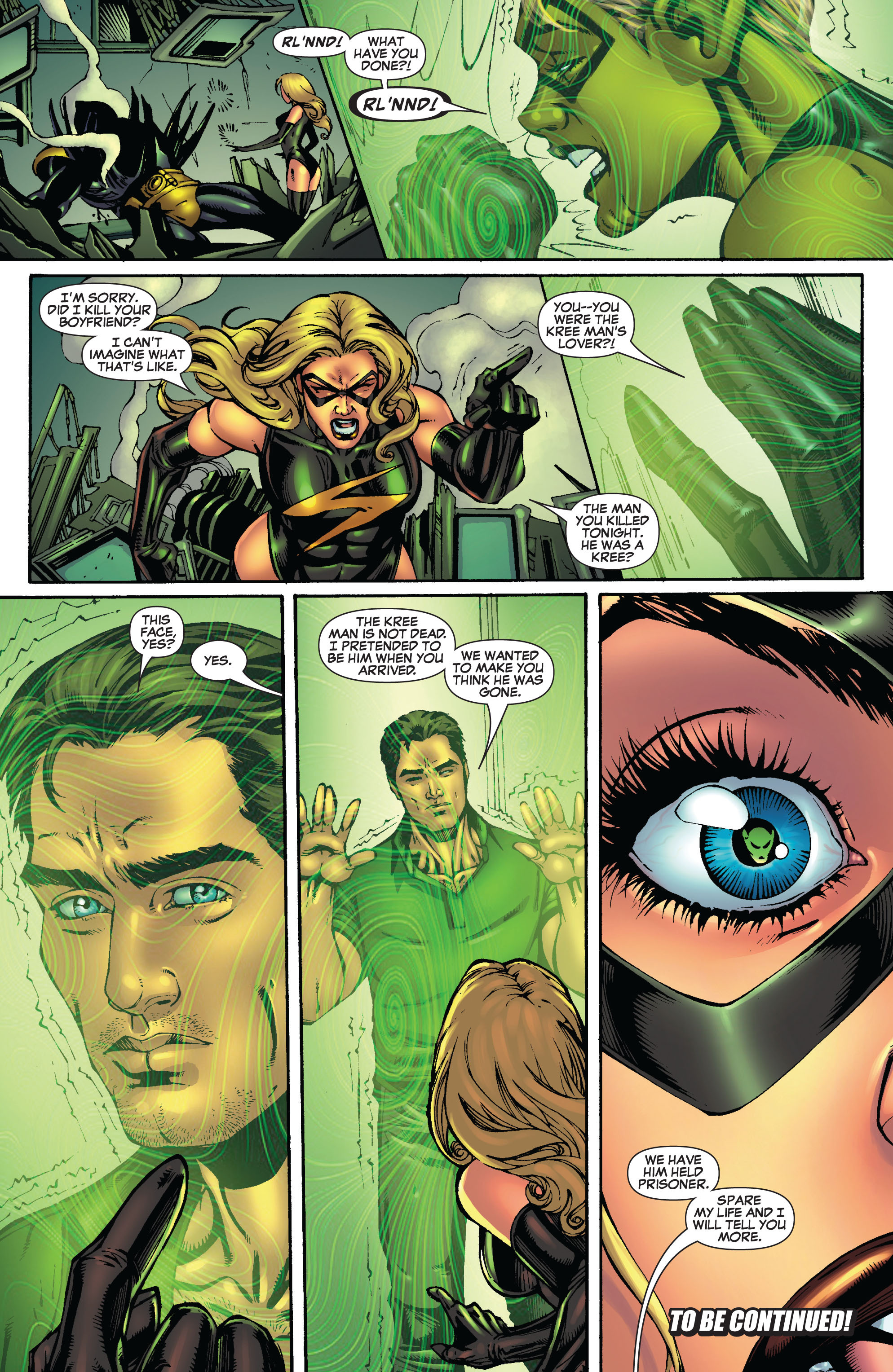 Read online Secret Invasion: The Infiltration comic -  Issue #9 - 23