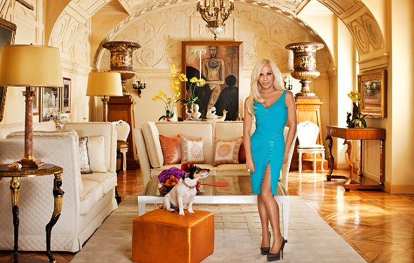 Celebrity Home Photographs by Douglas Friedman: Donatella Versace Home 1