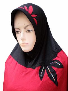 jilbab jumbo kaos
