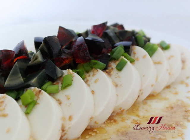 chinese cuisine chilled century egg tofu recipe