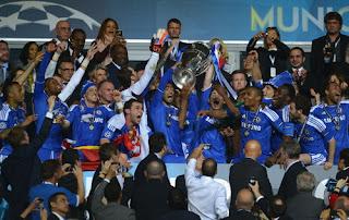 Selebrasi Chelsea Liga Champions