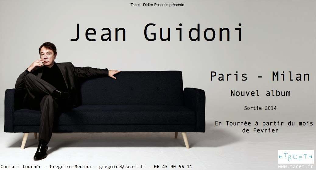 Jean Guidoni Tournée 2014 Où Ai-je La Tête ?